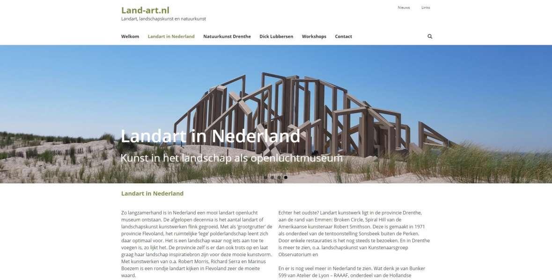 Land-art.nl Landart, landschapskunst en natuurkunst