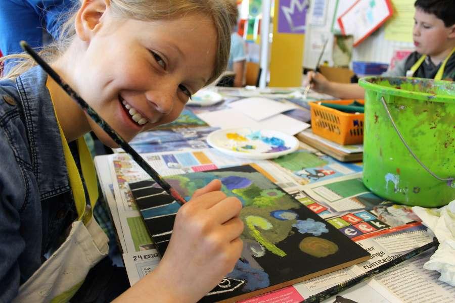Vincent van Gogh project voor basisscholen in Klazienveen