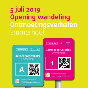 Uitnodiging opening Ontmoetingsverhalen Emmerhout