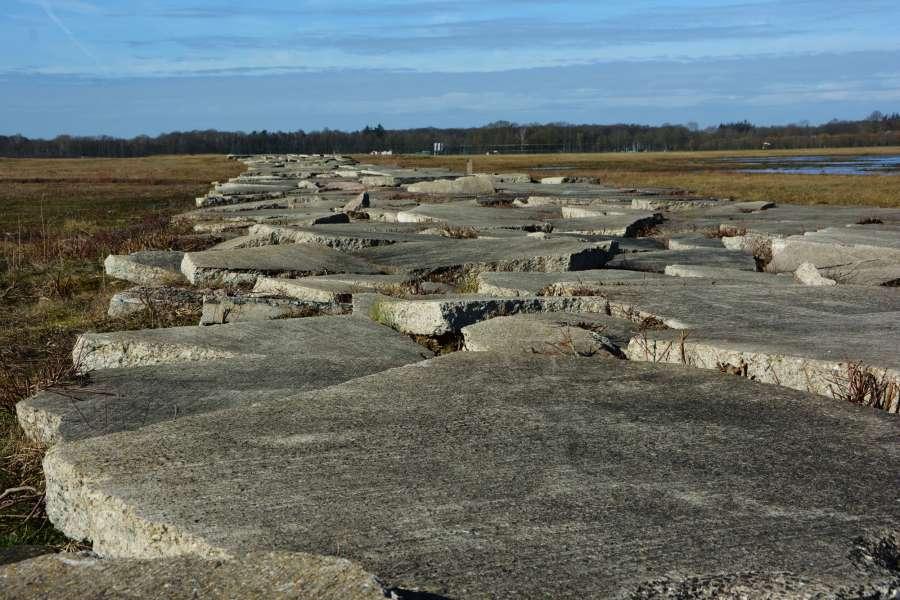 Betonschotsen - Vliegbasis Twente