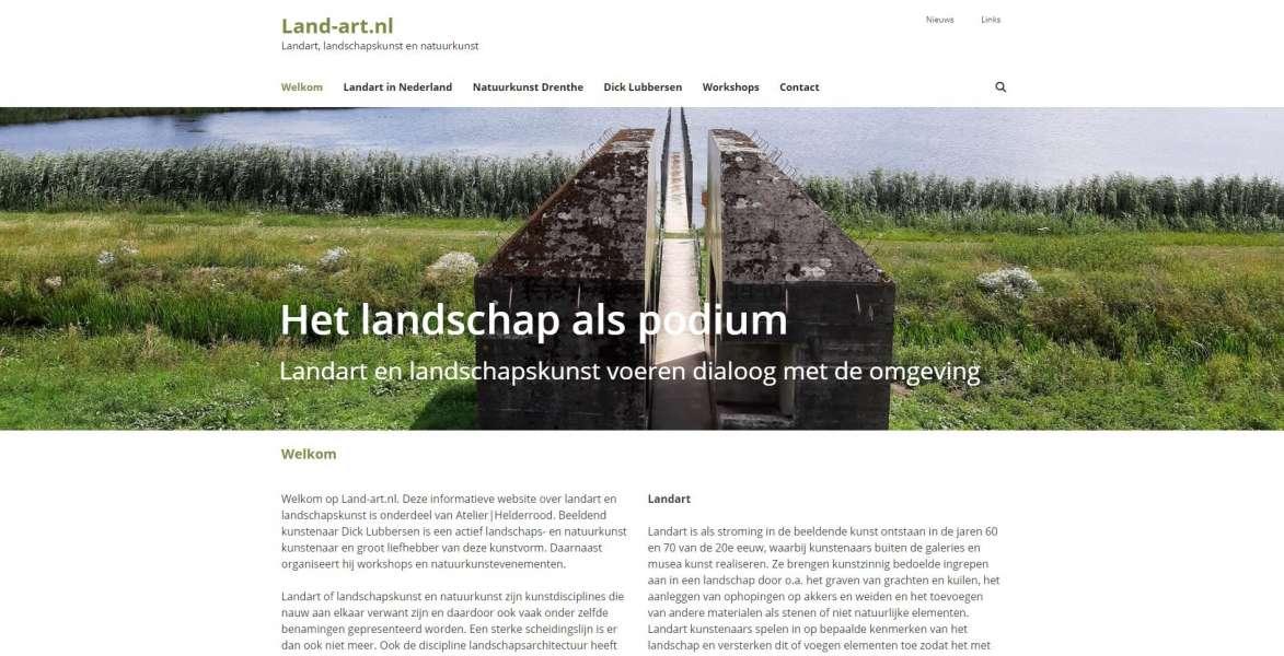 Land-art.nl Land-art.nl Landart, landschapskunst en natuurkunst